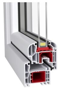Okna PCV - profil Aluplast